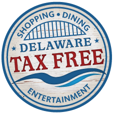 Delaware Tax Free Shopping Logo