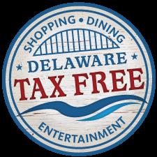 Delaware Tax Free Shopping Logo