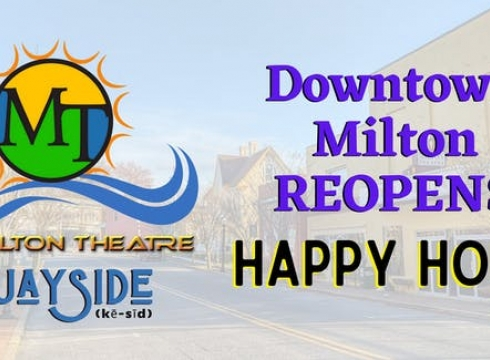 Downtown Milton Reopening Party