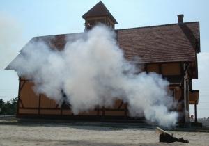 Firing of the Lyle Gun: A Life-Saving Cannon