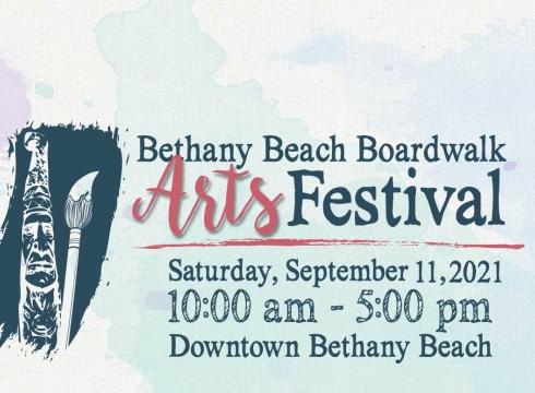 43rd Annual Bethany Beach Boardwalk Arts Festival