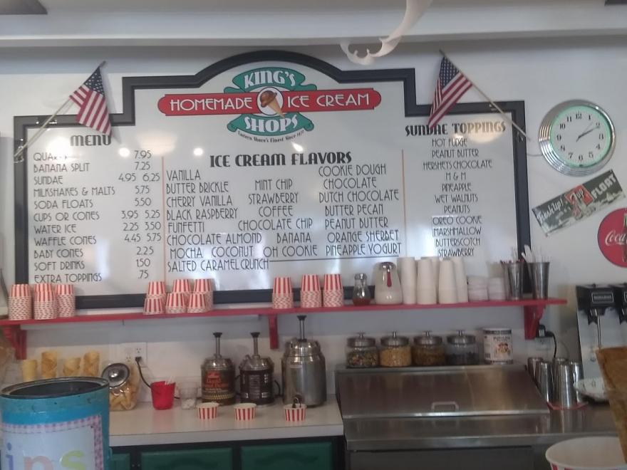King's Homemade Ice Cream