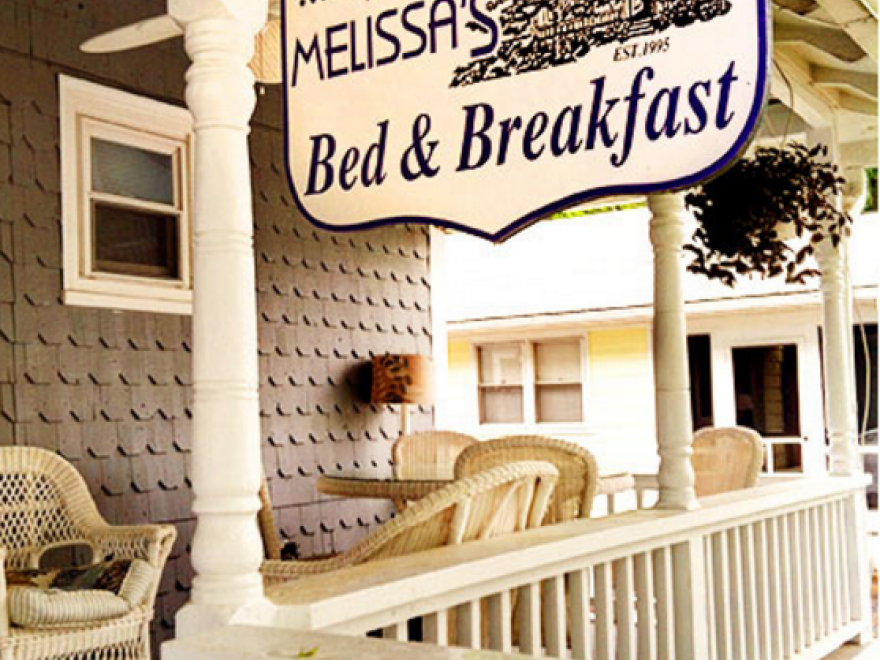 At Melissa's Bed and Breakfast