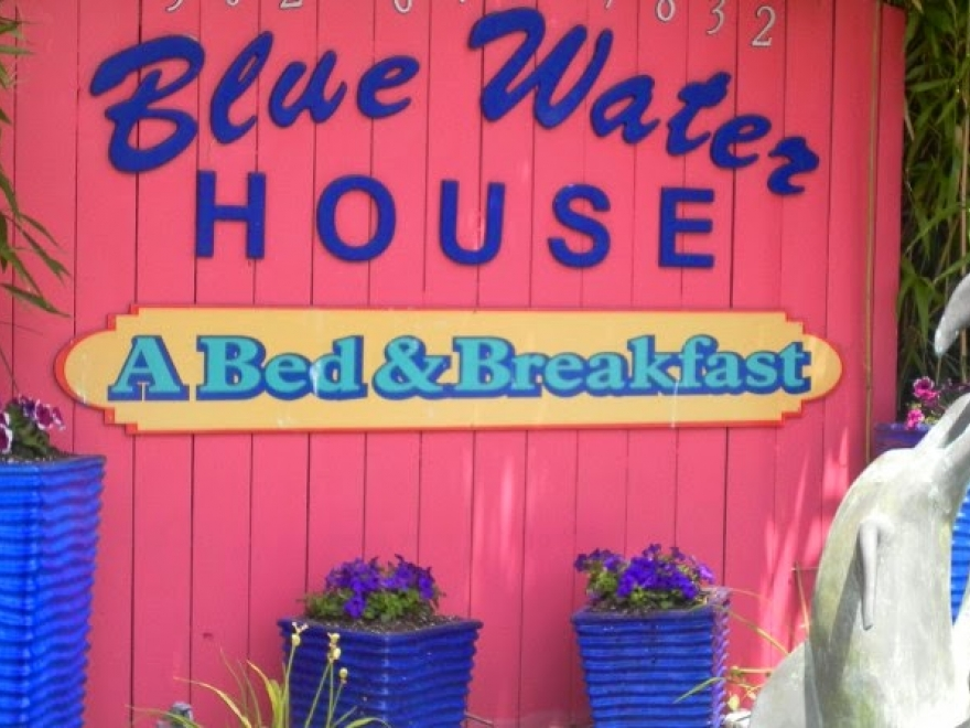 The Blue Water House